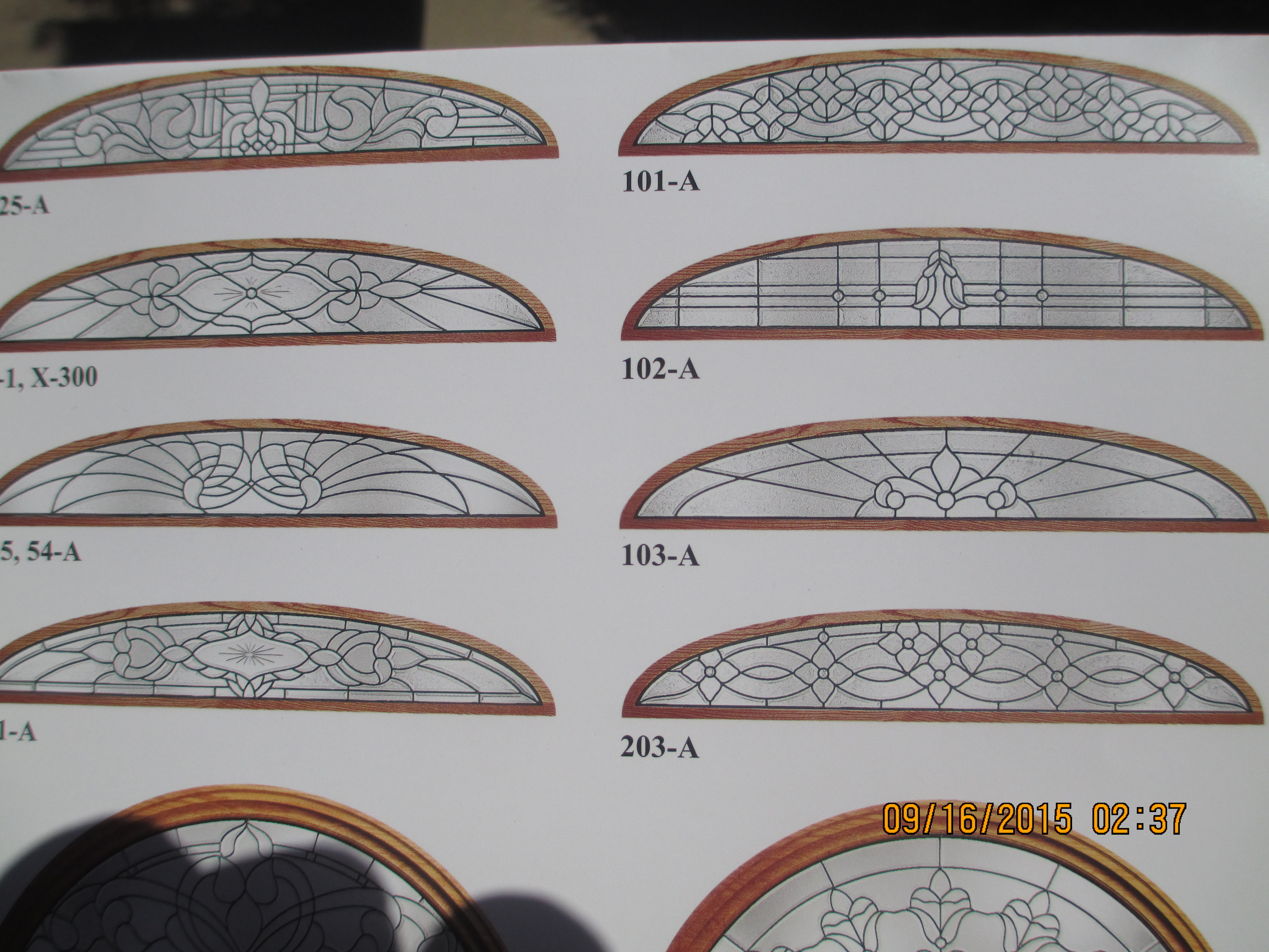Transoms Half Round Transoms Elliptical Transoms