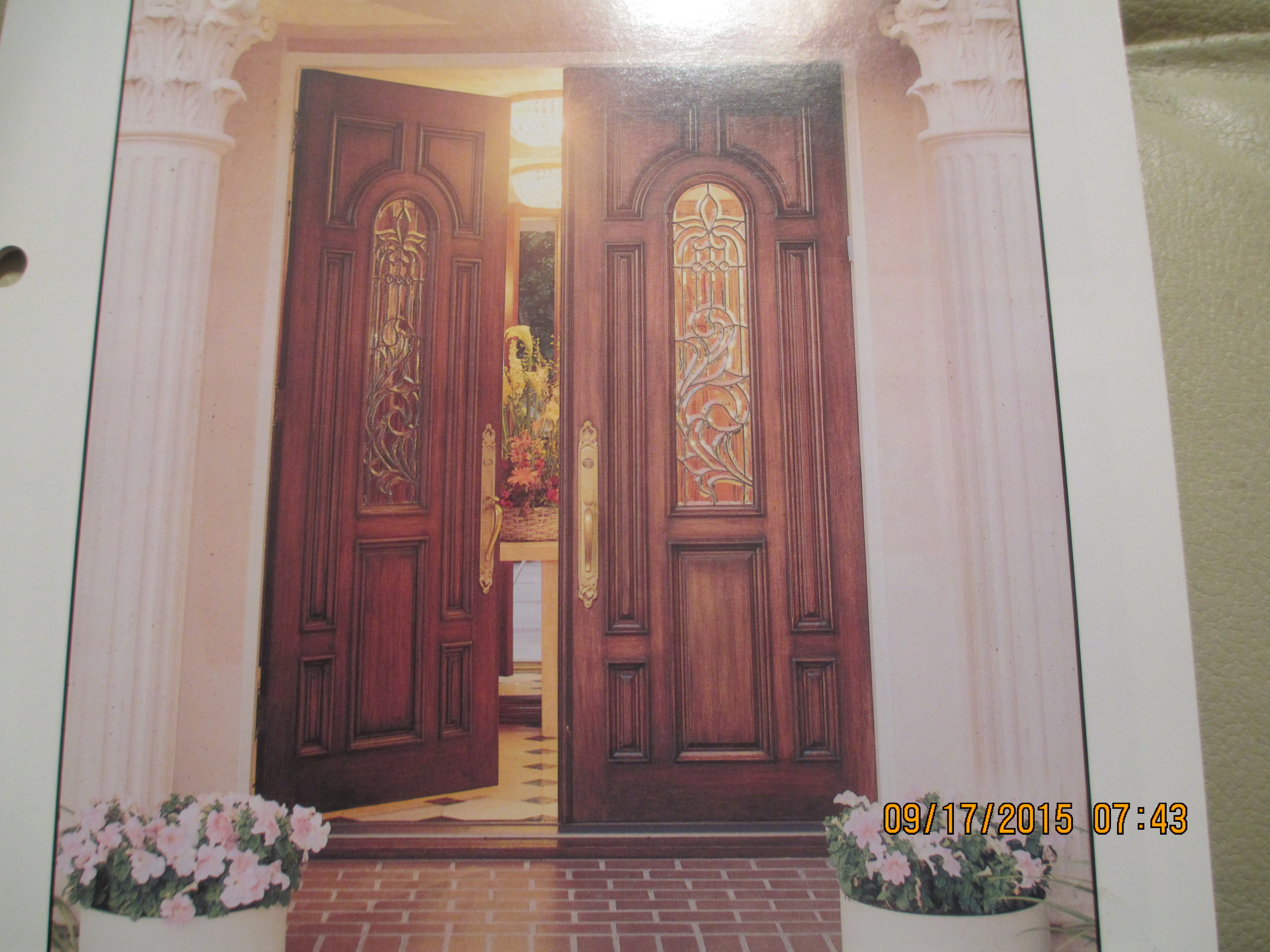 Round top pre hung mahogany doors top of the line - Pair Of 525 Solid Mahogany Doors 8 Ft Tall Prehung And Finished Lexington Ky