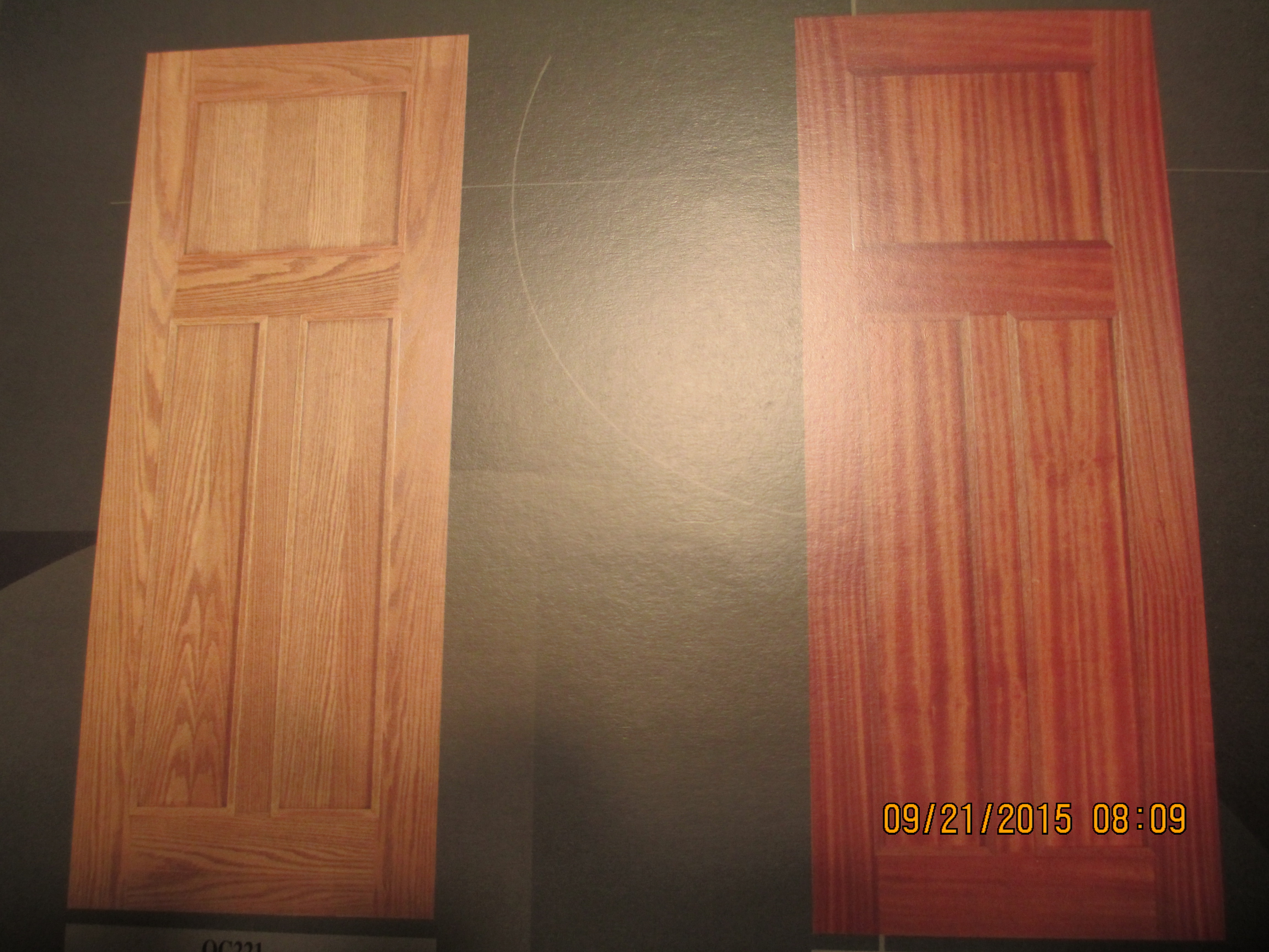 These Doors Feature Flat Panels In The Stickley Tradition Square Sticking Img 0487