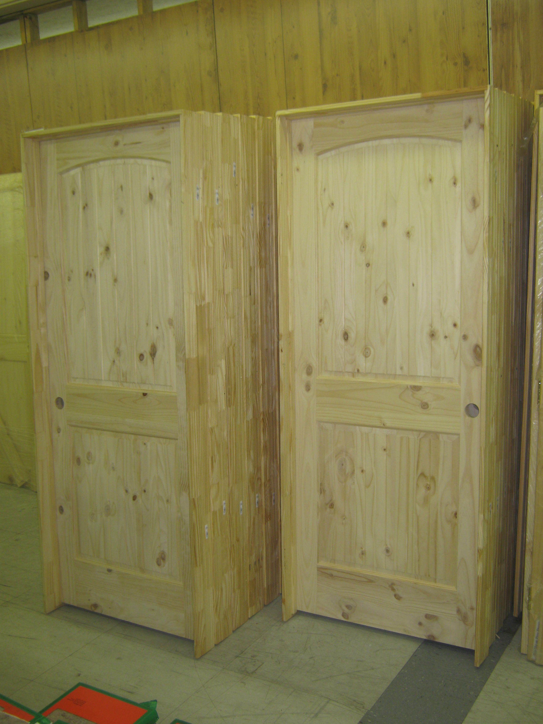 Custom interior knotty pine doors interior prehung doors for Custom interior doors