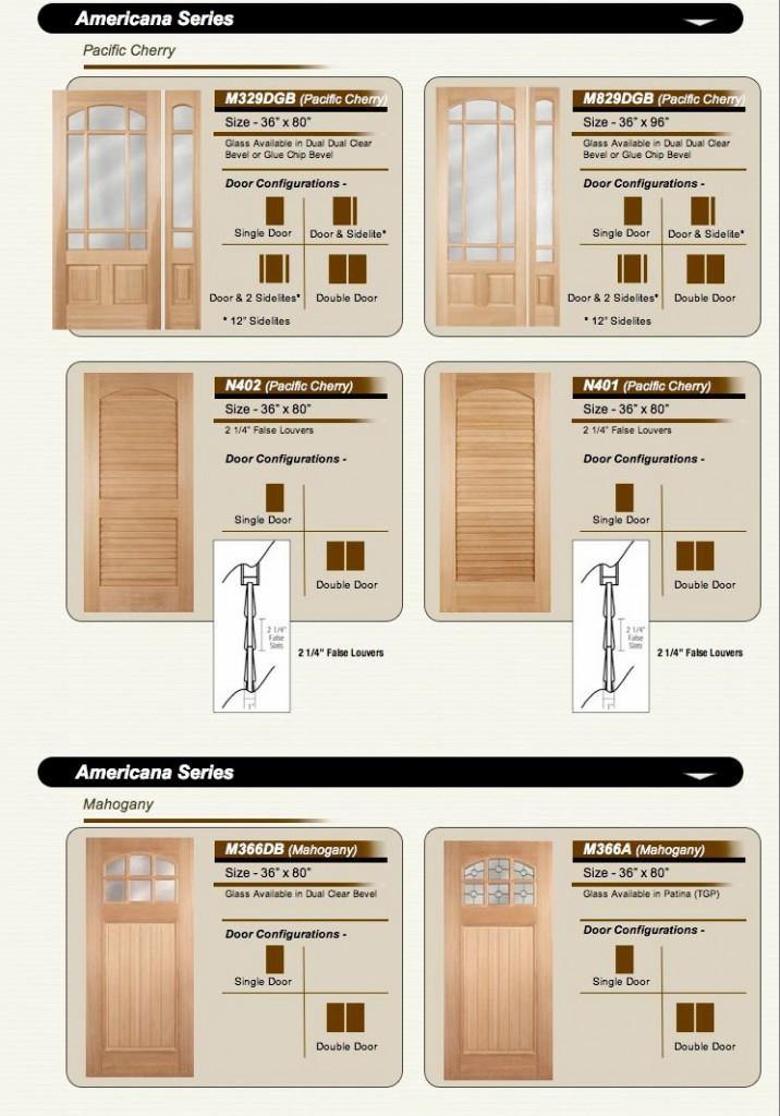 Americana Doors  sc 1 st  Amish Custom Doors & AMISH CUSTOM DOORS ( AMERICANA STYLE ) COLUMBUS OHIO - Amish Custom ...