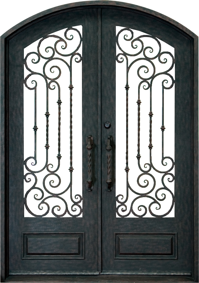 Forged Iron Doors : Forged iron entryways and doors amish custom