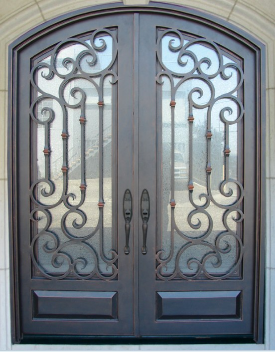 Well Liked Forged Iron Entryways And Doors Amish Custom Residential Vg16