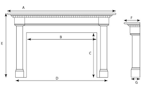 fireplace measurement form