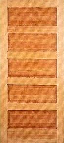 five panel pine doors 106