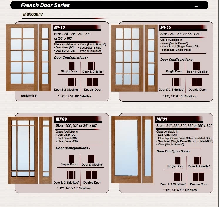 French doors amish custom doors amish custom doors french doors interior exterior with beveled glass solid mahogany planetlyrics Gallery