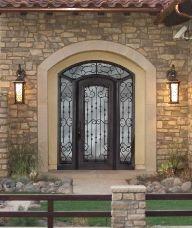 gorged iron entryway
