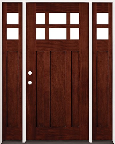 Craftsman Double Front Door amish custom doors ( americana style ) columbus ohio - amish