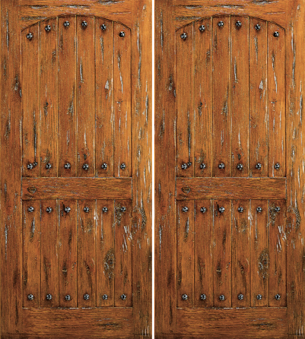 AMISH CUSTOM DOORS SOUTHWEST STYLE KNOTTY ALDER RUSTIC DOORS ... & AMISH CUSTOM RUSTIC DOORS / RUSTIC EXTERIOR DOORS / KNOTTY ALDER ...