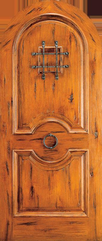 Amish Custom Doors Rustic Knotty Alder Western Style Doors Amish Custom Doors