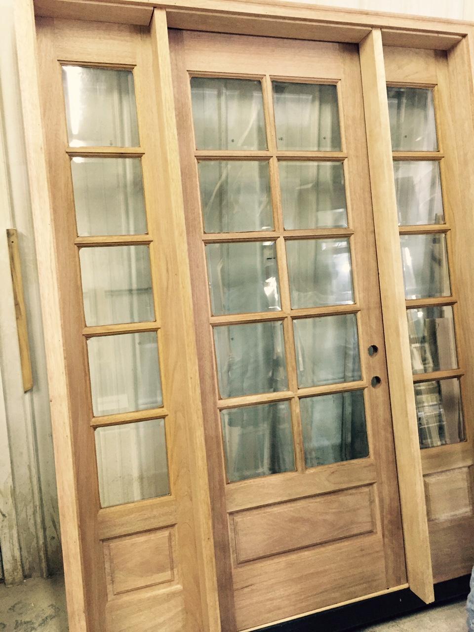 new f doors 8 & Amish Custom Doors Completed Jobs / SHOP PICTURES / CUSTOM INTERIOR ...