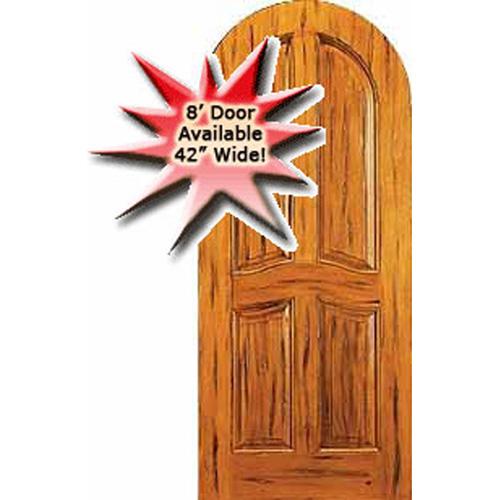 Rustic Knotty Alder Arch Radius Head Doors ( HALF ROUND DOORS
