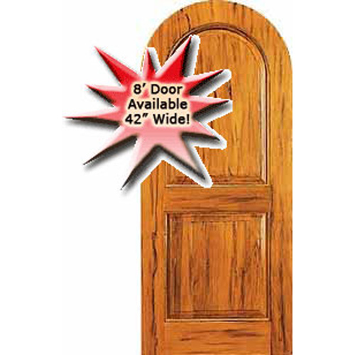 RUSTIC # 13 AMISH CUSTOM DOORS RUSTIC KNOTTY ALDER HALF ROUND DOOR  AVAILABLE IN WIDTHS OF 36 INCH Or 42 INCH U0026 Heights Of 7 Ft Or 8 Ft !!