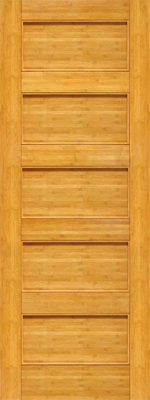 wood 5 panel door