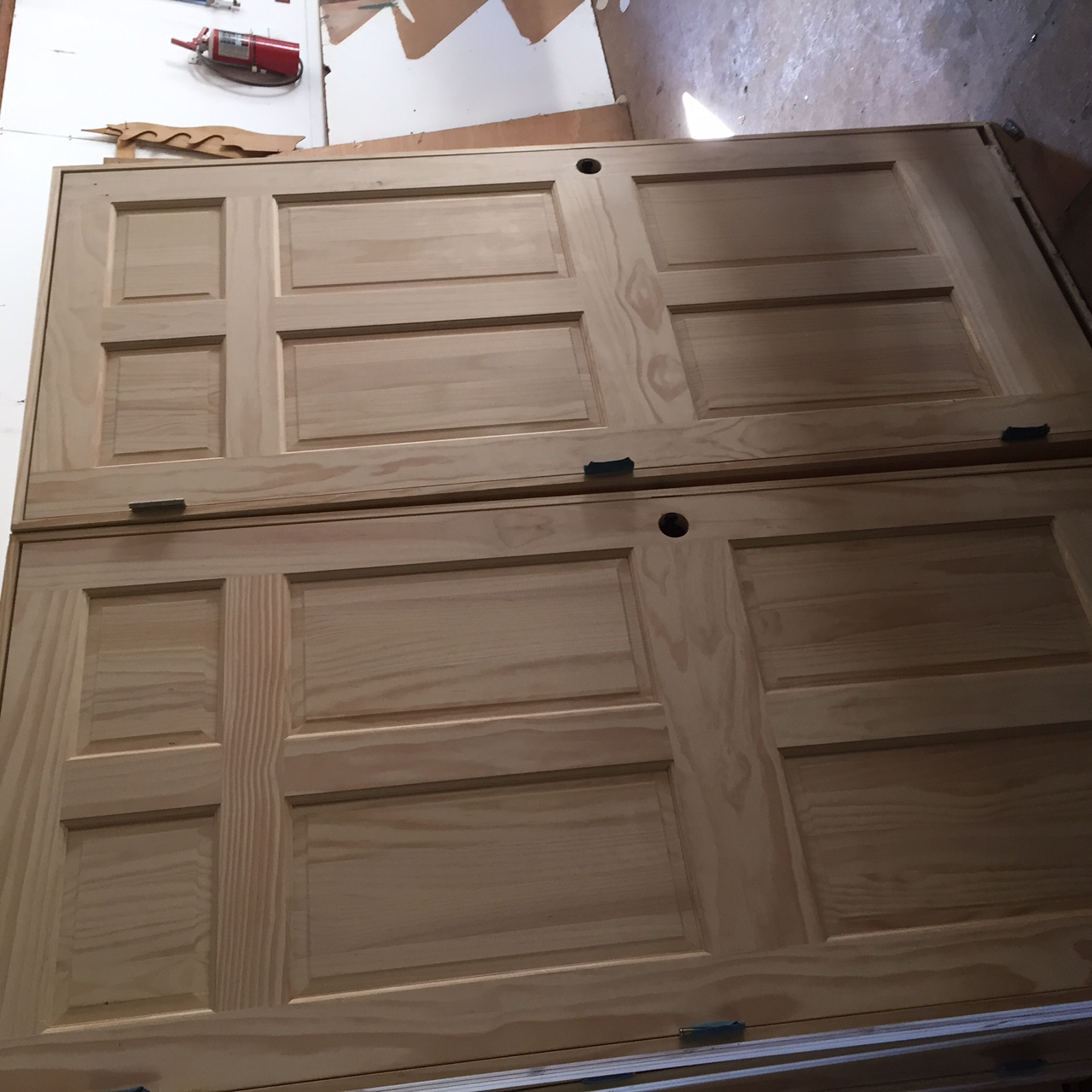 wp six panel unfinished doors