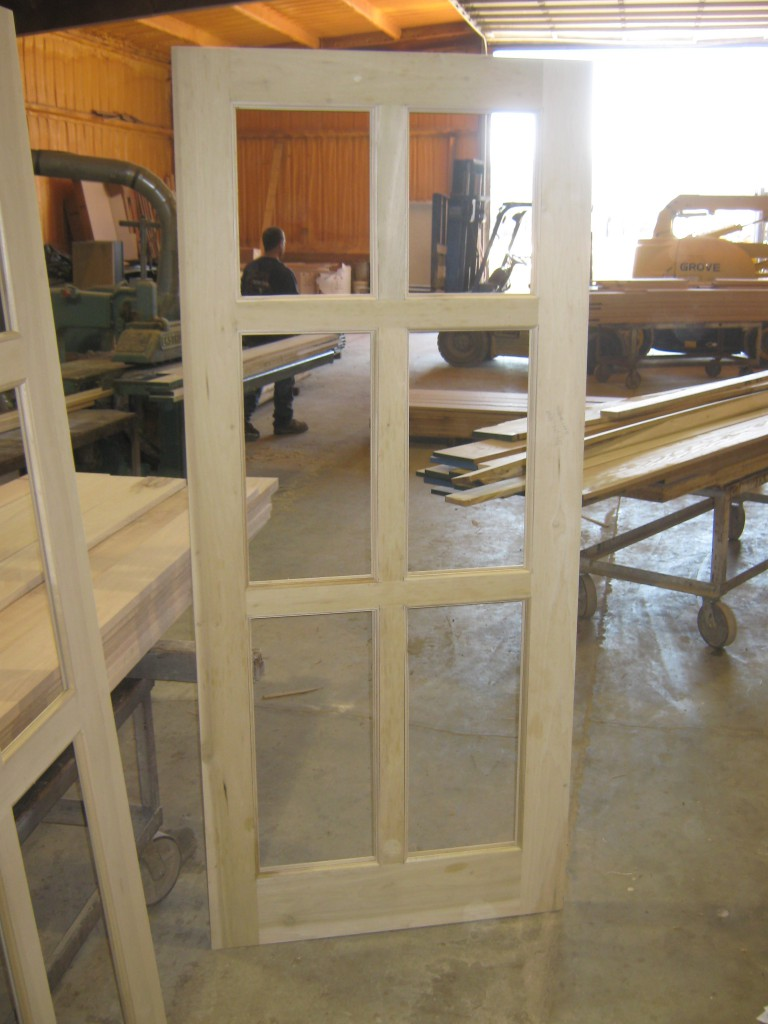 Amish Custom Doors Shop Pictures