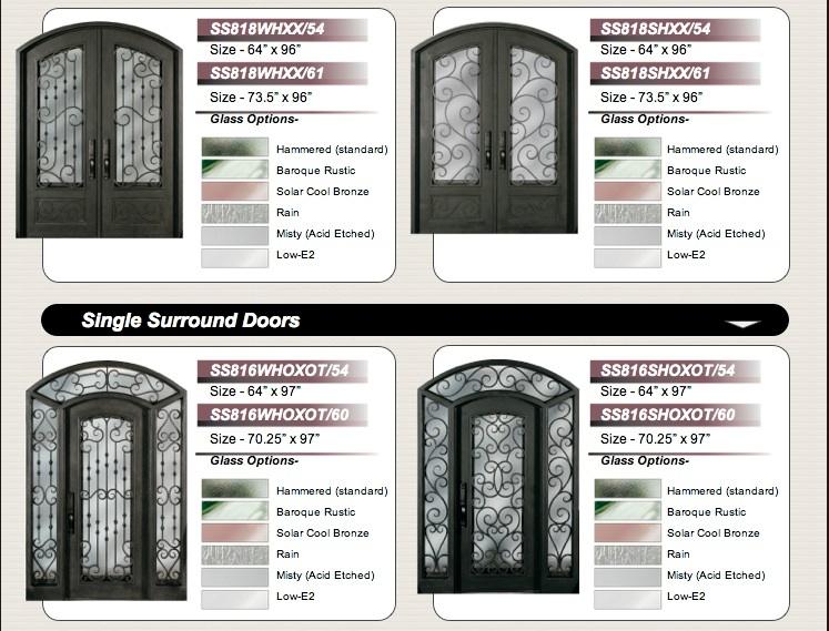 Forged Iron Entryways And Doors Amish Custom Doors