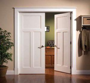 craftsman style prehung interior doors sevenstonesinc com