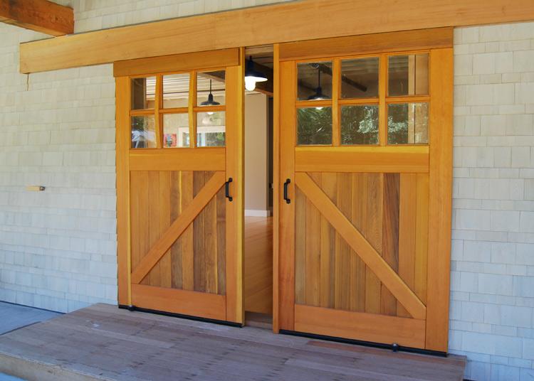 SLIDING INTERIOR BARN GARAGE DOORS EXTERIOR Amish Custom Doors