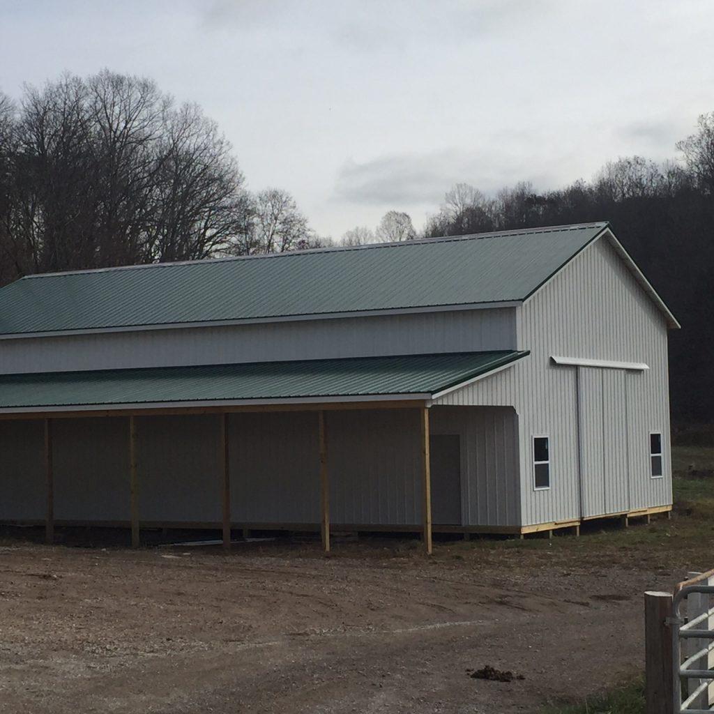 Amish Custom Garages : Custom barns amish doors