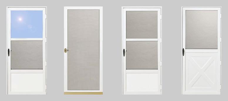 Aluminium Storm Doors