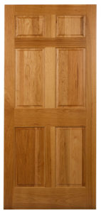 SOLID HICKORY INTERIOR DOORS 6 PANEL / SIX PANEL INTERIOR STAIN GRADE DOORS