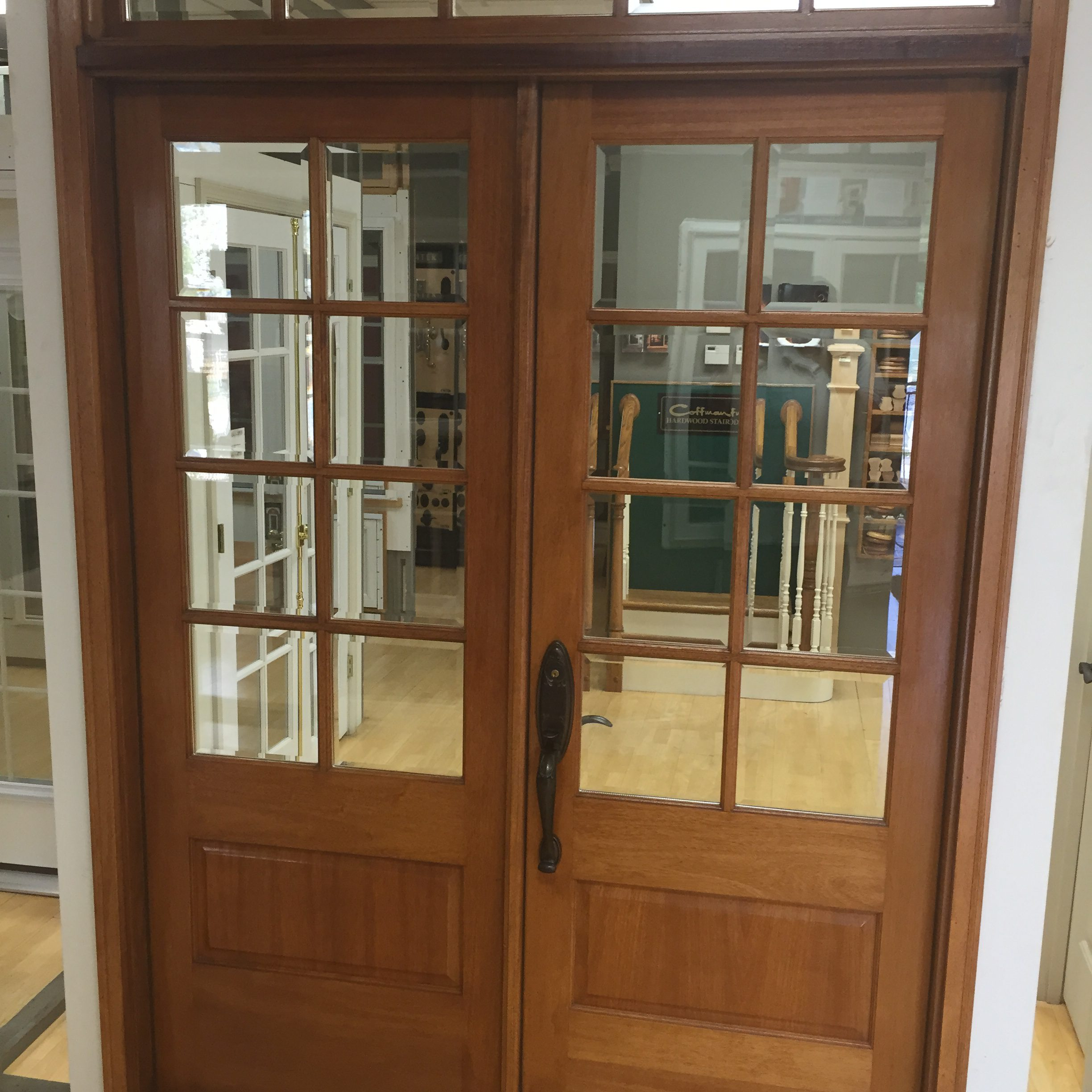 Amish custom doors completed jobs shop pictures custom for Custom exterior doors