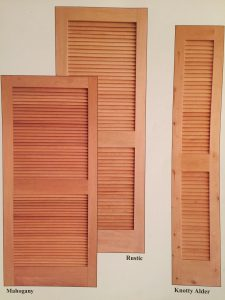 COM CUSTOM MILLS LOUVERED DOORS TO ANY SIZE and ANY DIMENSION / THE CUSTOMER PROVIDES DIMENSIONS and CHOICE OF WOOD / WE DONu0027T STOCK THESE LOUVER DOORS ... & Louvered Doors - Amish Custom Doors
