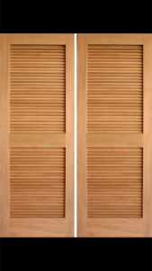 CUSTOM LOUVERED INTERIOR DOORS / CUSTOM SIZE LOUVERED DOORS / PREHUNG  INTERIOR LOUVERS DOORS / See Over 5,000 Pictures Of Our Doors On Our WEB ...