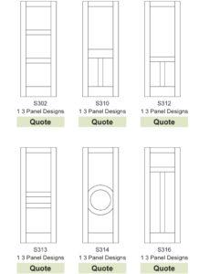 CUSTOM MDF INTERIOR DOORS