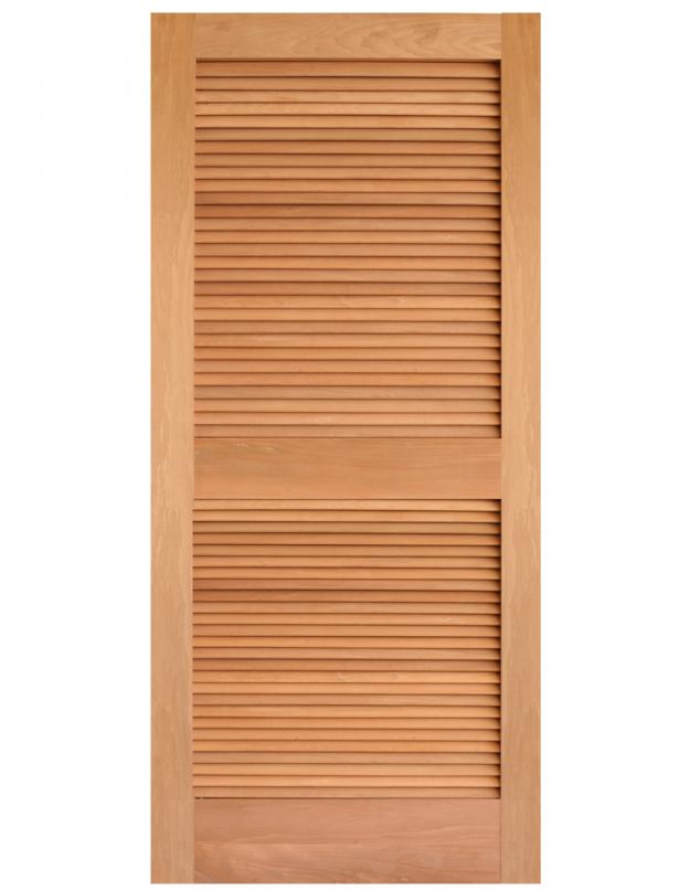 Louver Mahogany 624x807 Amish Custom Doors