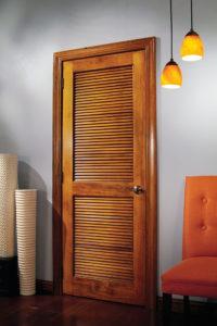 Louvered Doors - Amish Custom Doors