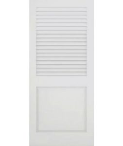CUSTOM PANEL BOTTOM LOUVERED DOORS / HALF And HALF LOUVER DOORS