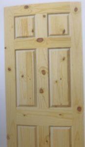 6 PANEL KNOTTY PINE INTERIOR SLAB DOOR / CUSTOM MILLED KNOTTY PINE INTERIOR  DOORS / CUSTOM SIZE KNOTTY PINE INTERIOR DOORS / KNOTTY PINE SLIDING DOORS  ...
