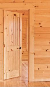 ... Solid Wood Doors In Stock In Height Of 80 Or 96 Inches ( 6 Ft 8 In Or 8  Ft ) Picture Of Our Interior Knotty Pine Door Installed And Finished . We  Have ...