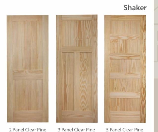 Craftsman Interior Doors Shaker Interior Doors Primed And Stain