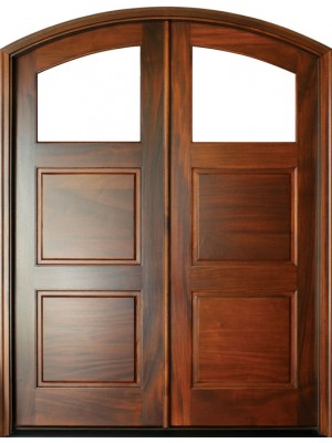 Arched exterior doors & Arched Interior Doors - Amish Custom Doors on